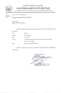 undangan Rapat Koordinasi KSM MTs 2016_001